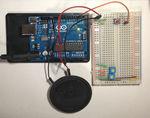 ArduinoでPC98起動音(写真)